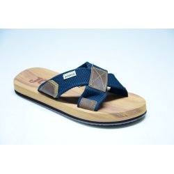 S.GOMERA MEN 703 MARRONE BLU